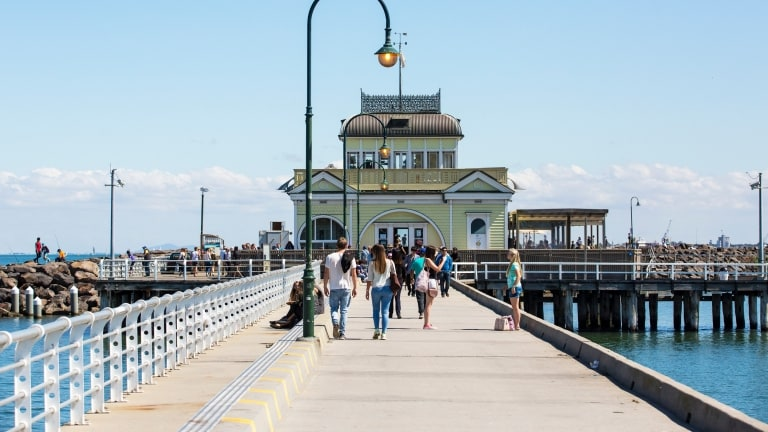 St Kilda Pier, St Kilda, Melbourne, VIC. © Josie Withers Photography, Tourism Victoria