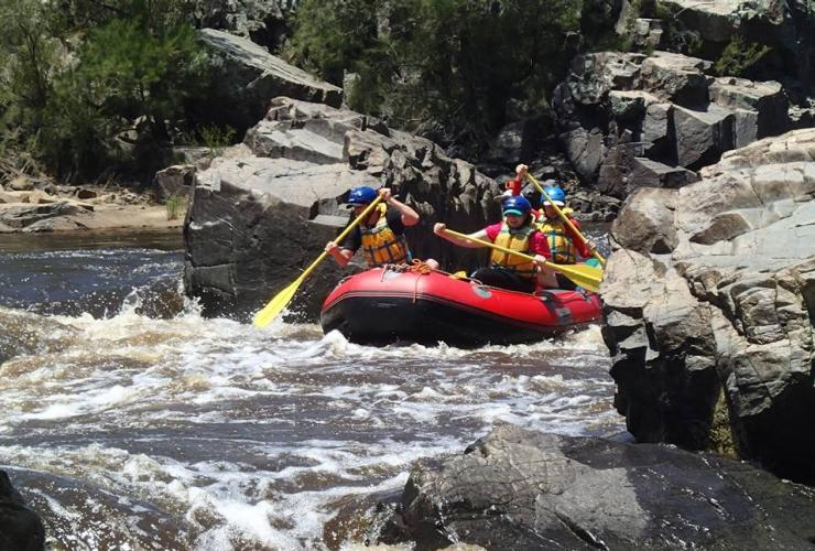 Alpine River Adventures, Murrumbidgee River, ACT © Alpine River Adventures