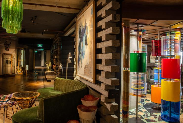 Ovolo Nishi space with local furnishings in NewAction © VisitCanberra