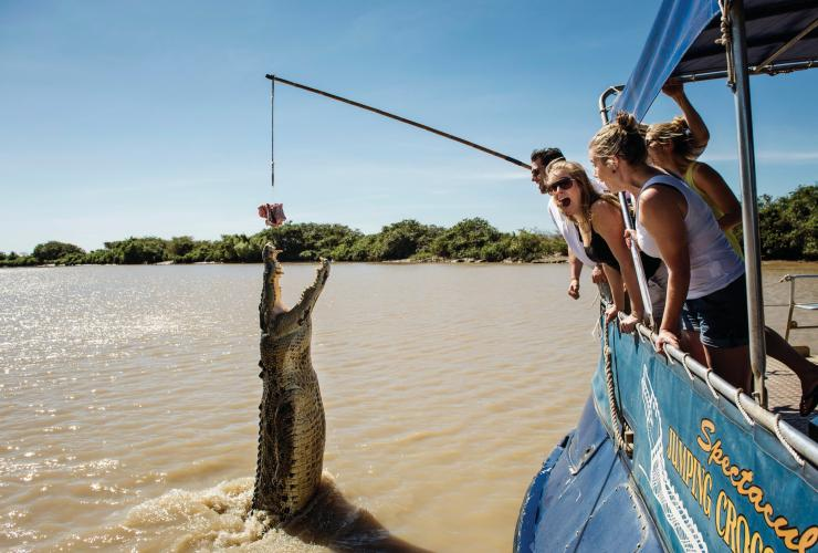Spectacular Jumping Crocodile Cruise, Adelaide River, NT © Shaana McNaught