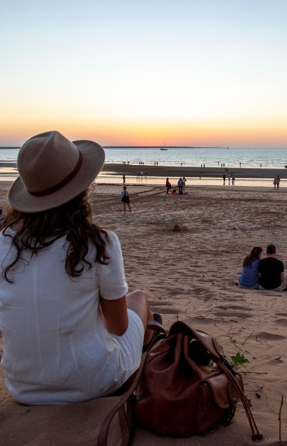 Mindil Beach at Sunset, Darwin, Northern Territory © Tourism Australia