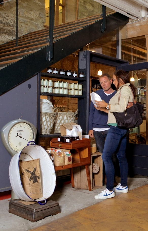 Bruny Island Cheese Co. shop at Salamanca Arts Centre in Hobart © Tourism Australia/Adrian Cook