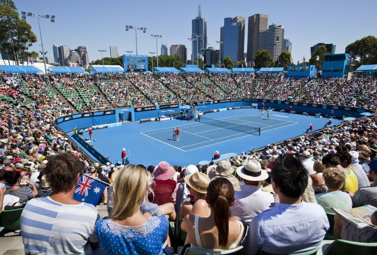 The Australian Open, Melbourne, VIC © Visit Victoria