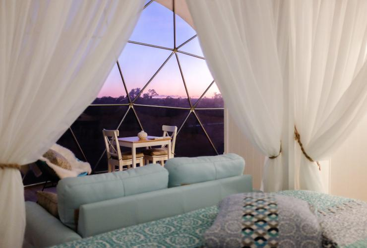 Mile End Glamping, Margaret River, WA © Mile End Glamping
