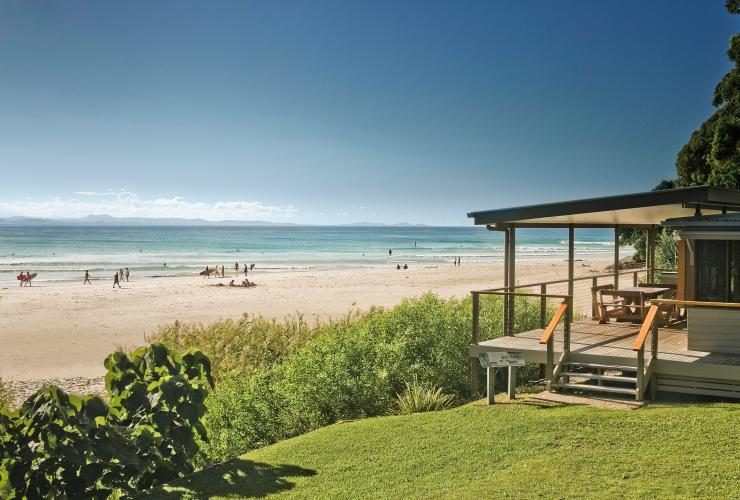 Imeson Cottage, Clarkes Beach Cottages, Byron Bay, NSW © David Young, National Parks and Wildlife Service