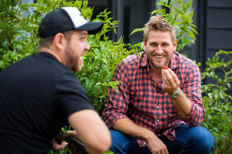 Field Trip with Curtis Stone at Yerrabingin Rooftop Farm at Eveleigh in Sydney © Destination NSW