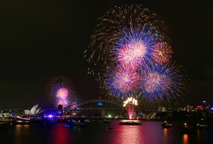 Sydney New Year's Eve, Sydney, NSW © City of Sydney