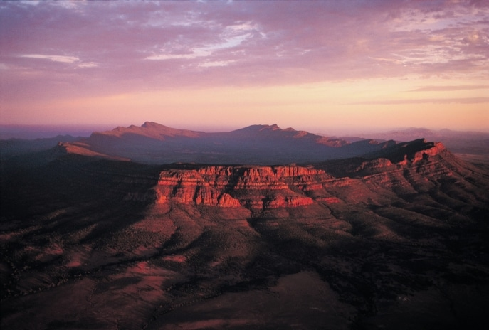Wilpena Pound, Flinders Ranges, SA © South Australian Tourism Commission/Adam Bruzzone