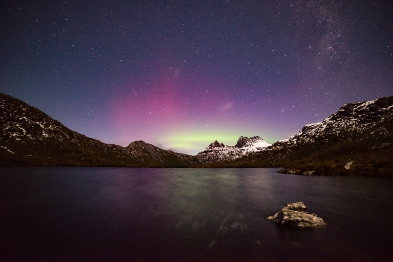 Aurora Australis, Cradle Mountain-Lake St Clair National Park, TAS © Pierre Destribats