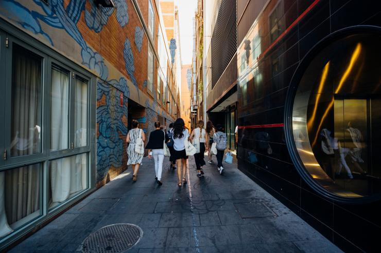 Jason Wing 'In Between Two Worlds,' Ultimo, Sydney, NSW © Jason Wing, Jodie Barker culturescouts.com.au