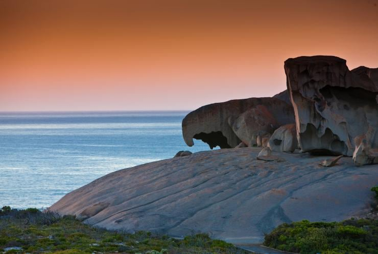 Remarkable Rocks, Kangaroo Island, SA © South Australian Tourism Commission