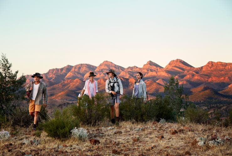 Arkaba Walk, Flinders Ranges, SA © Hugh Stewart