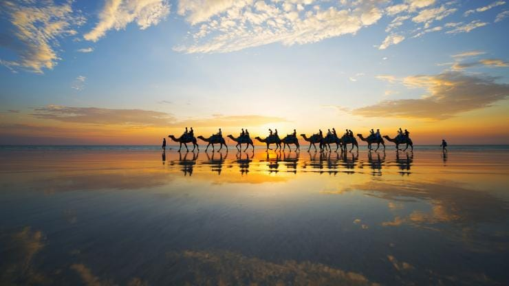 Cable Beach, Broome, WA © Tourism Australia