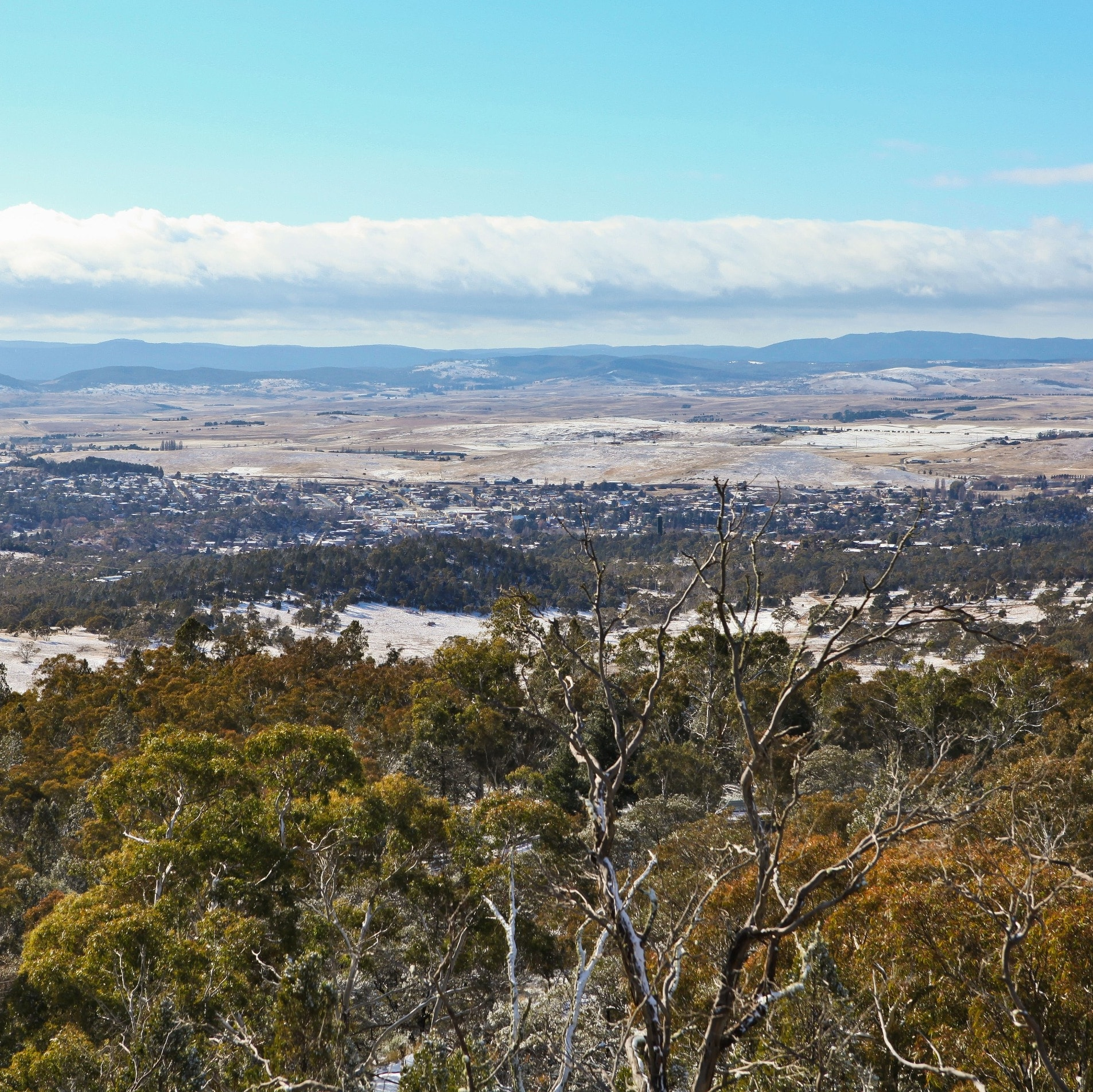: Mt Gladstone in the Snowy Mountains © Tourism Snowy Mountains