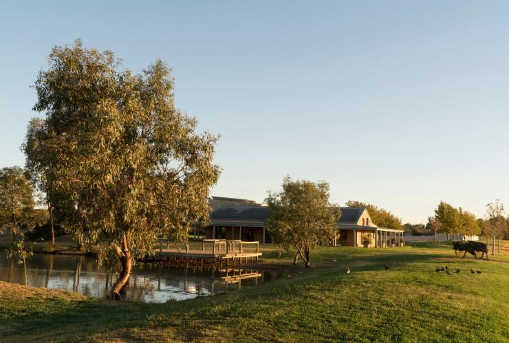 St. Anne's Winery, Moama, NSW © Destination NSW