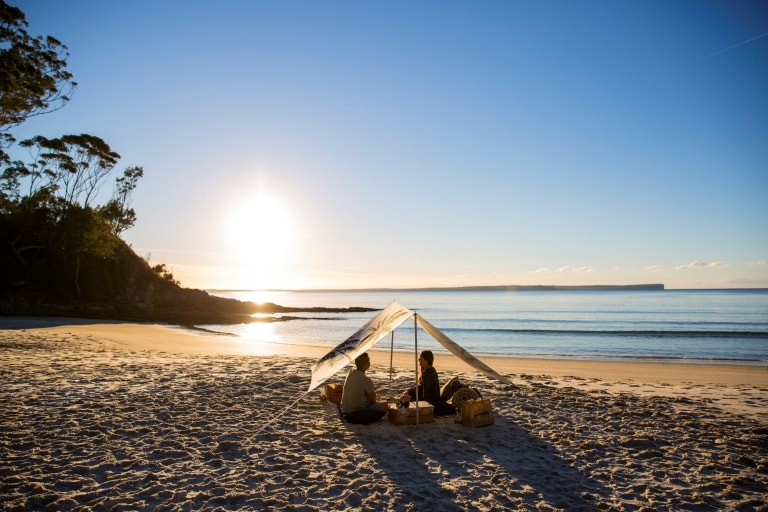 Blenheim Beach, Jervis Bay, NSW © Destination NSW