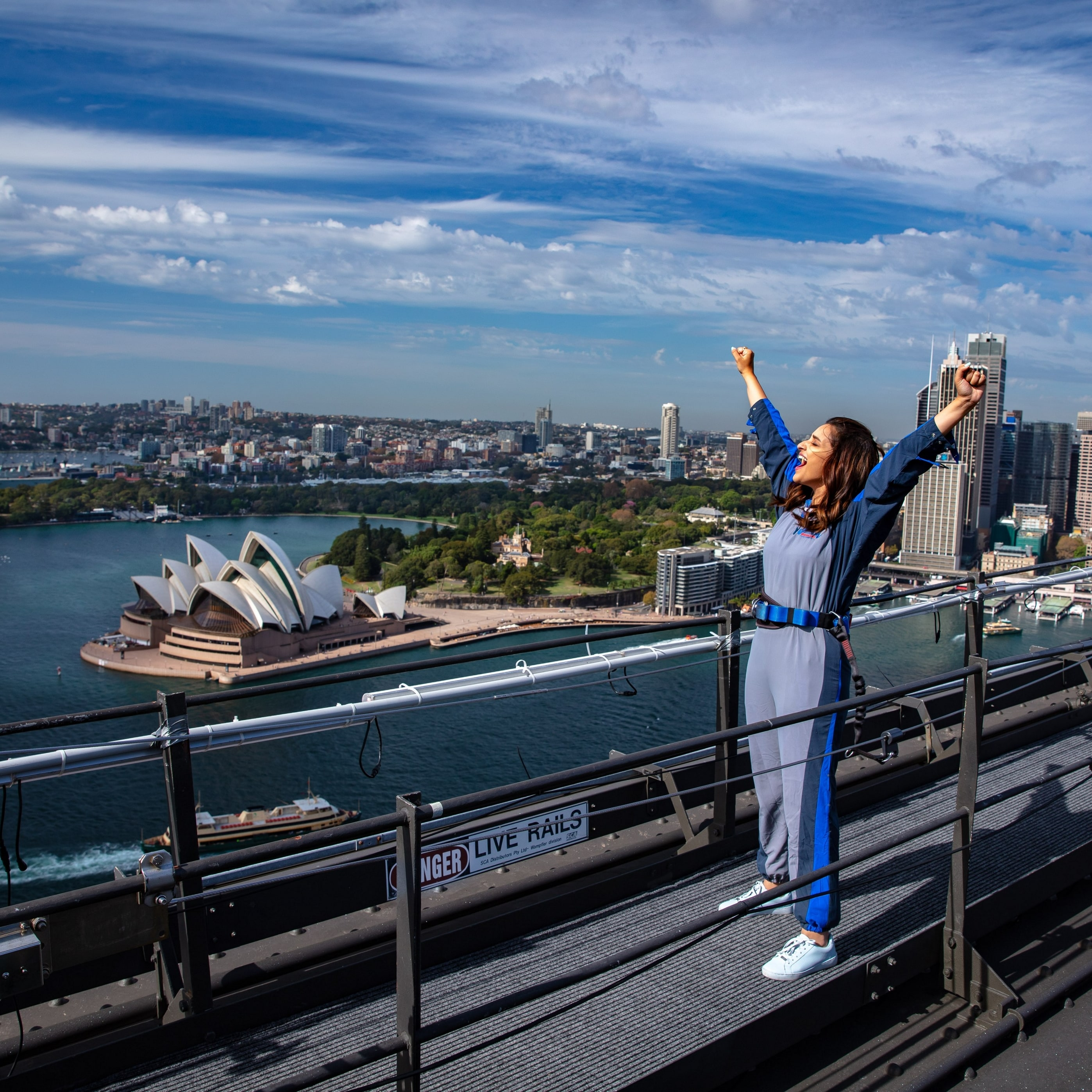 BridgeClimb, Sydney, New South Wales © Tourism Australia, Destination NSW and Parineeti Chopra