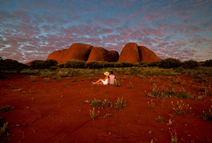 Uluru, NT. © Desert Awakenings Tour