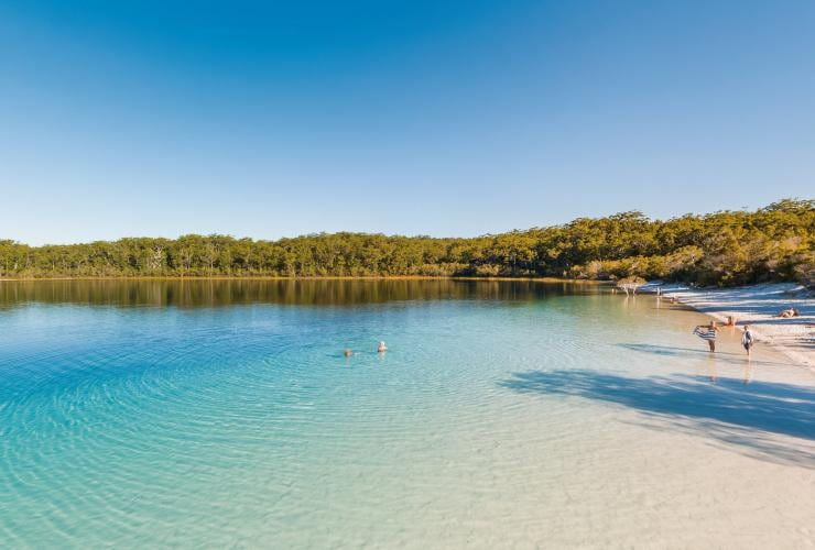 Lake Mackenzie, Fraser Island, Fraser Coast, QLD © Tourism and Events Queensland