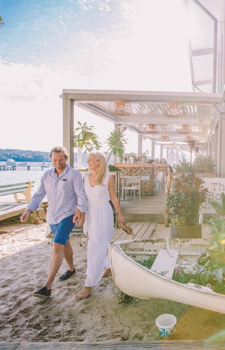 The Boatshed, Balmoral Beach, Sydney, NSW © Tourism Australia