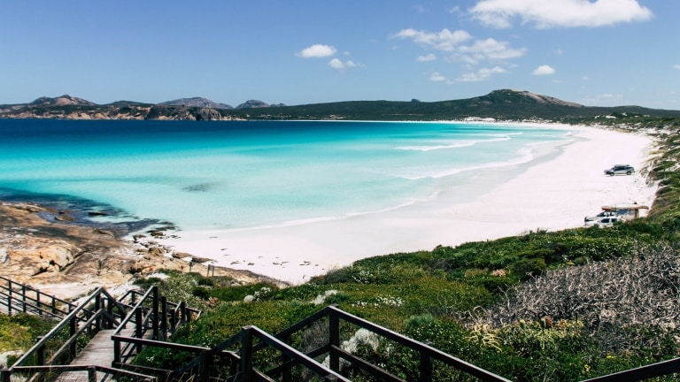 Lucky Bay, Cape Le Grand National Park, WA © Tourism Western Australia