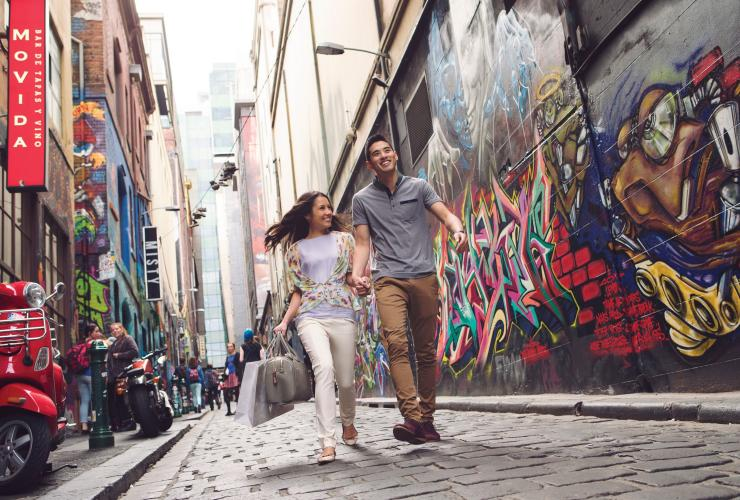 Hosier Lane, Melbourne, VIC © Tourism Australia