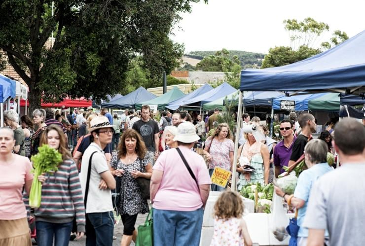 Willunga Farmers Markets, Willunga, SA © Karen Walker Photography