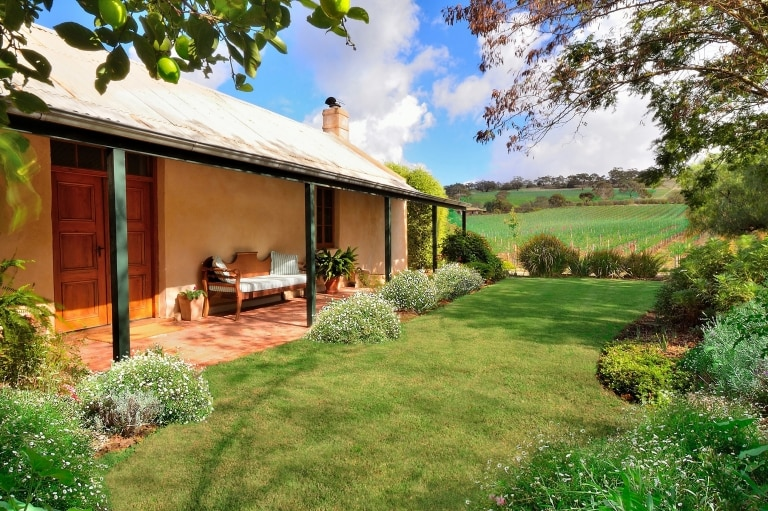 Seppeltsfield Vineyard Cottage, Barossa Valley, SA © Seppeltsfield Vineyard Cottage