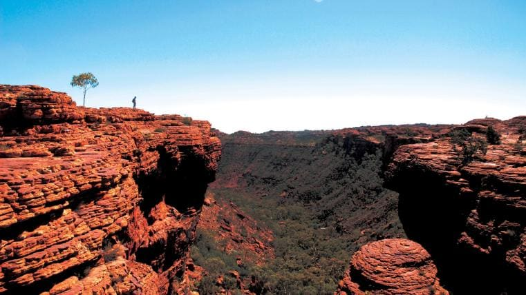 Kings Canyon, Watarrka National Park, NT © Tourism NT