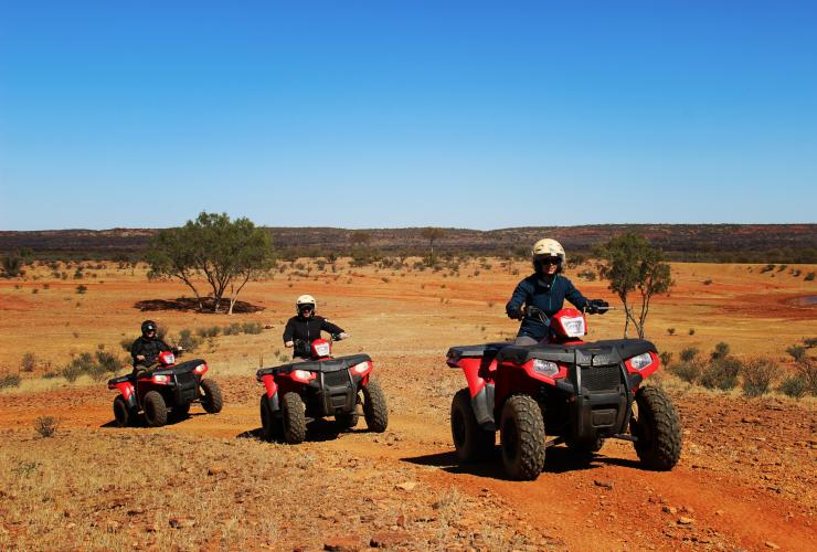 Randonnée en quad, Kings Creek Station, NT © Sarena Hyland, Tourism Northern Territory