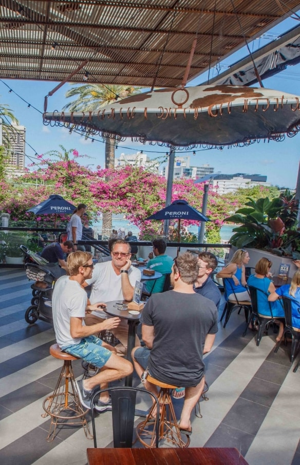 Southbank Beer Garden, Brisbane, QLD © Southbank Beer Garden