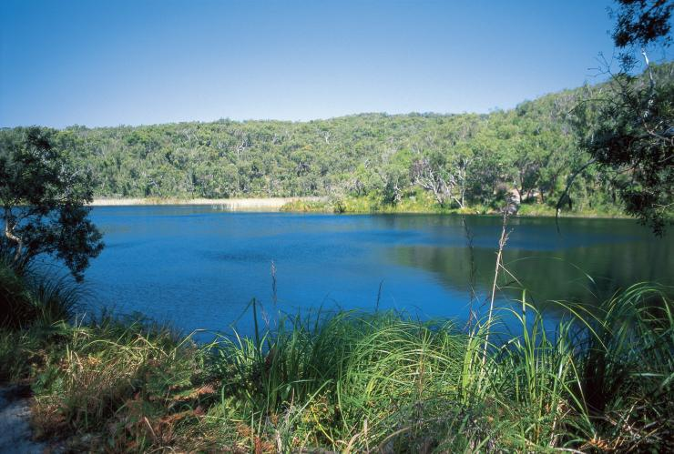 Blue Lake, North Stradbroke Island, QLD © Tourism and Events Queensland