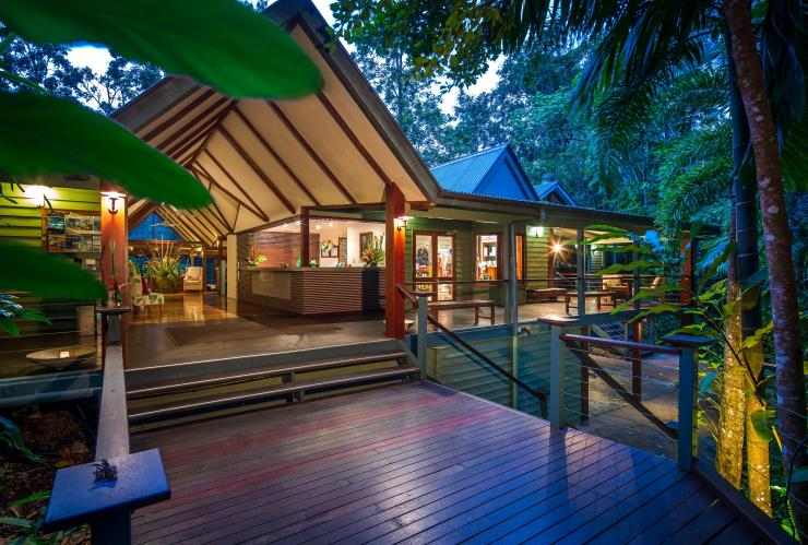 Silky Oaks Lodge, Gorges de Mossman, Daintree National Park, QLD © Silky Oaks Lodge