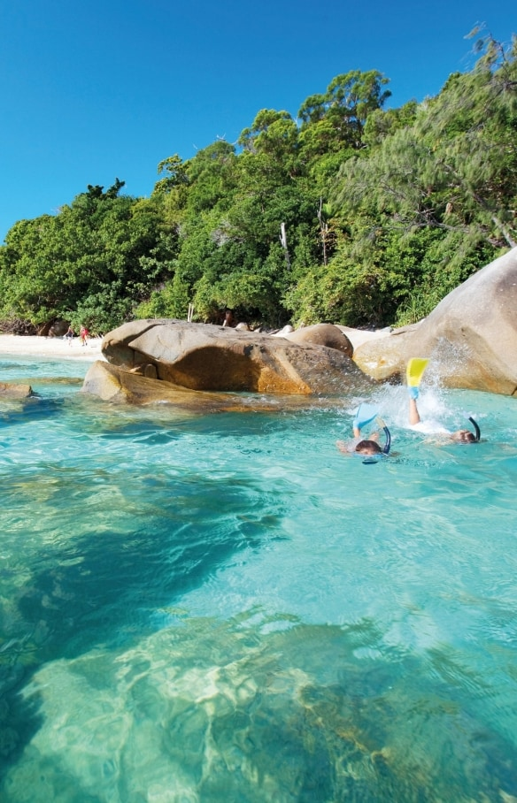 Fitzroy Island, QLD © Tourism and Events Queensland