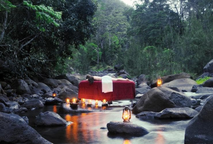 Nightfall Wilderness Camp, Lamington National Park, QLD © Tourism and Events Queensland