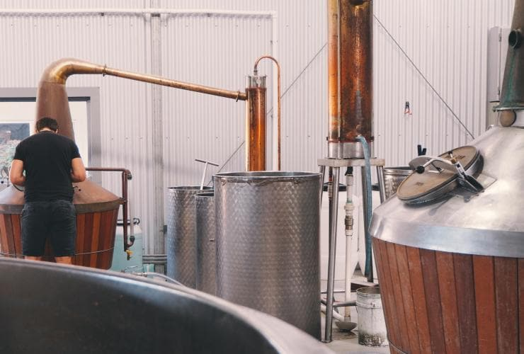 Great Southern Distilling Company, Albany, WA © Great Southern Distilling Company