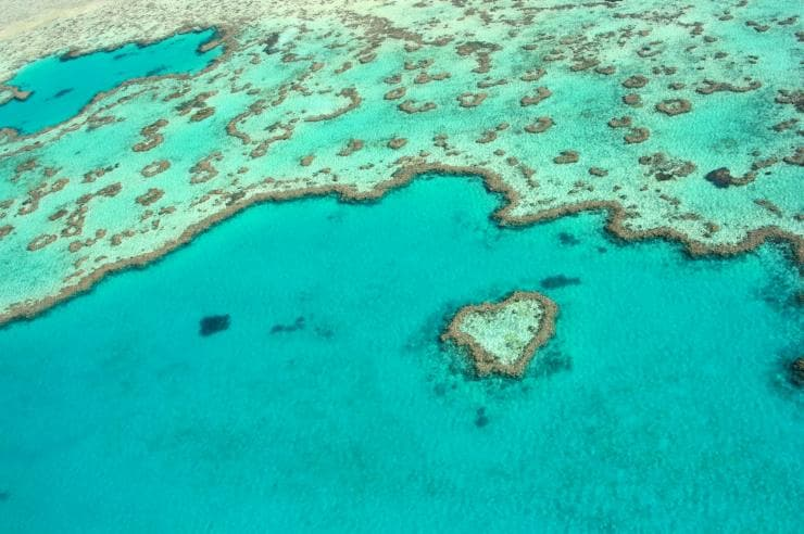 Heart Reef, Grande Barrière de Corail, QLD © Tourism and Events Queensland