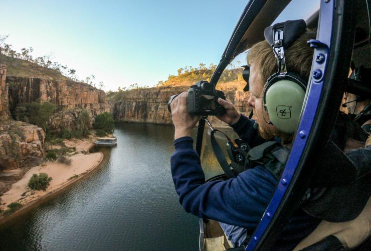 Nitmiluk Tours, Nitmiluk National Park, NT © James Fisher, Tourism Australia