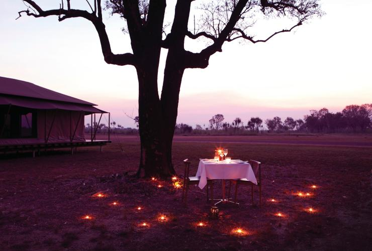 Wildman Wilderness Lodge, Parc national de Mary River, Top End, NT © Wildman Wilderness Lodge