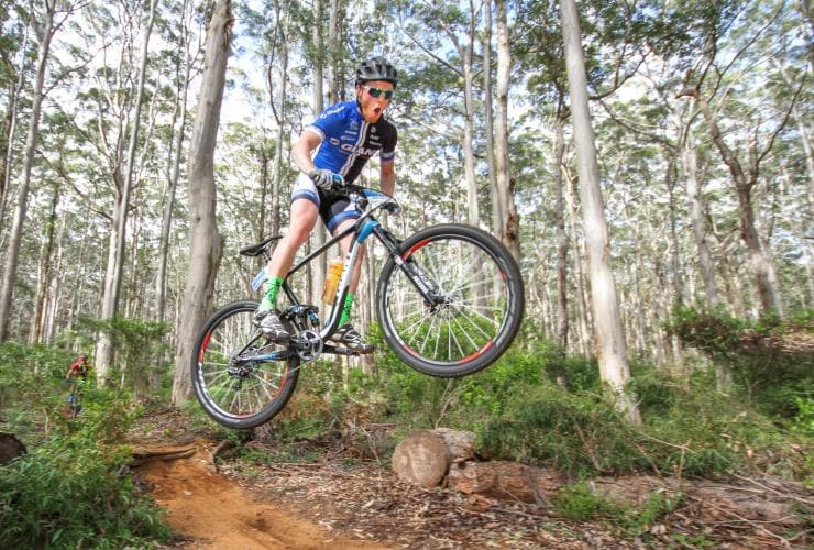 Cape to Cape MTB, région Margaret River, WA © Travis Deane