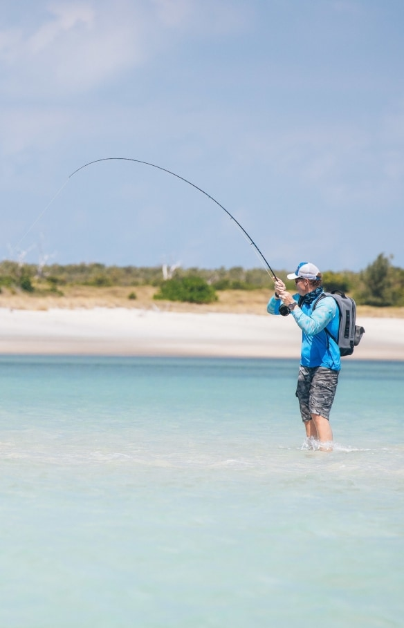 Waterline Charters, îles Wessel, Territoire du Nord © Aussie Fly Fisher