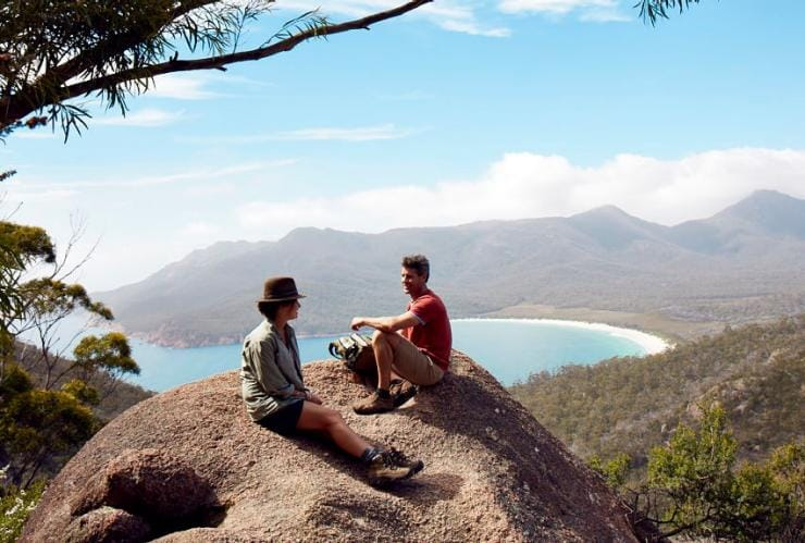 Freycinet Experience Walk, Wineglass Bay, TAS © Freycinet Experience Walk