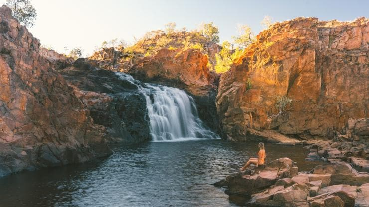 Leliyn (Edith Falls), Nitmiluk National Park, NT © Tourism NT/Mitch Cox 2018