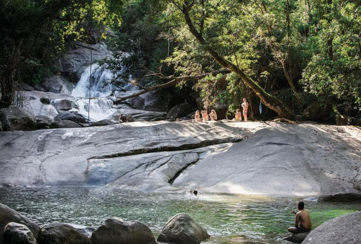Josephine Falls, Wooroonooran National Park, QLD. © Colyn Huber/Tourism and Events Queensland