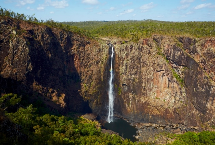 Wallaman Falls, Wallaman, QLD. © Aaron Spence/Tourism and Events Queensland