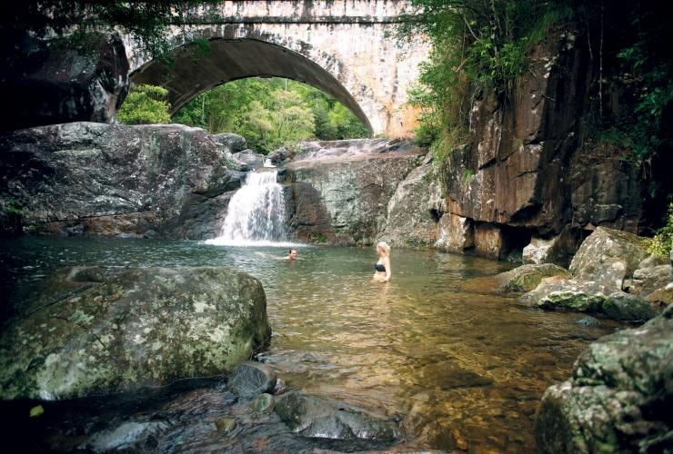 Little Crystal Creek, Paluma Range National Park, QLD. © Tourism and Events Queensland
