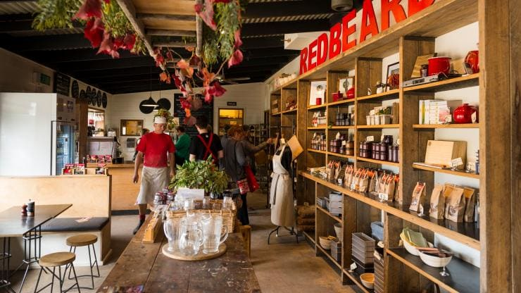Red Beard Bakery, Trentham, VIC © Visit Victoria