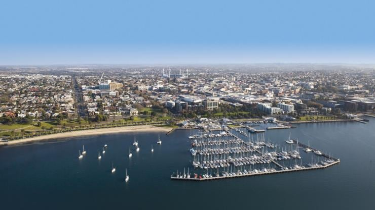 Front de mer de Geelong, Geelong & The Bellarine, VIC © Tourism Greater Geelong & The Bellarine