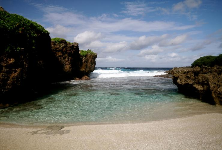 Lily Beach, Île Christmas © Inger Van Dyke, Christmas Island Tourism