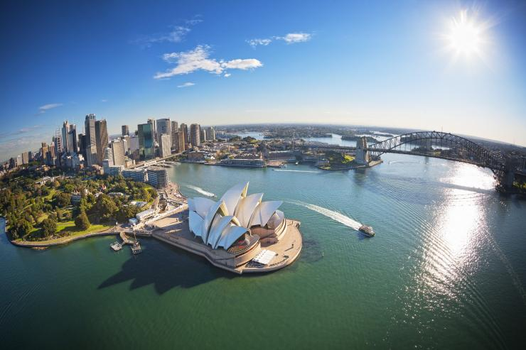 Baie de Sydney, Sydney, NSW © Destination NSW